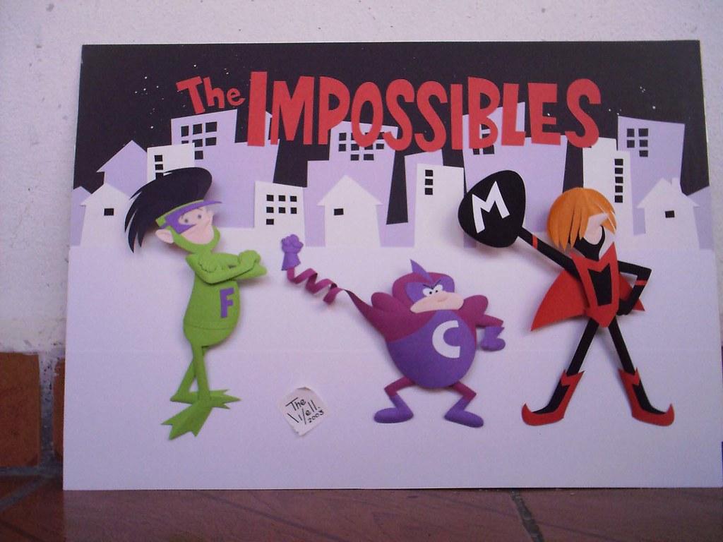 THE IMPOSSIBLES PAPER SCULPTURE  by wellington Diaz