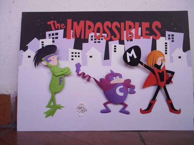THE IMPOSSIBLES PAPER SCULPTURE  by wellington Diaz