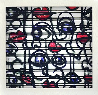 Malasaña legal graffiti day: eyes and lips | by MarcoLaCivita
