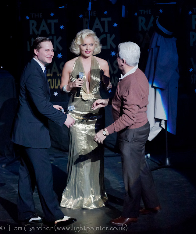 Sinatra and Marilyn with the birthday guest
