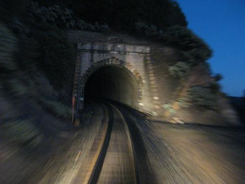 night train tunnel sierra bellavista privatecar