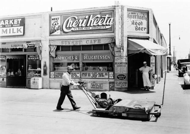 L.A. - Sunset Cafe 1930's