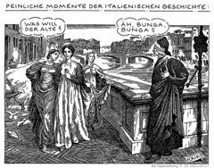 Embarrassing Moments in Italian History by Bonnetmaker