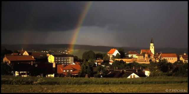Regenbogen über Nabburg