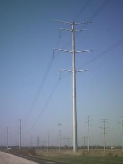 345 kV Steel Monopole Tower   A 345 kV steel Tower located n…   Flickr