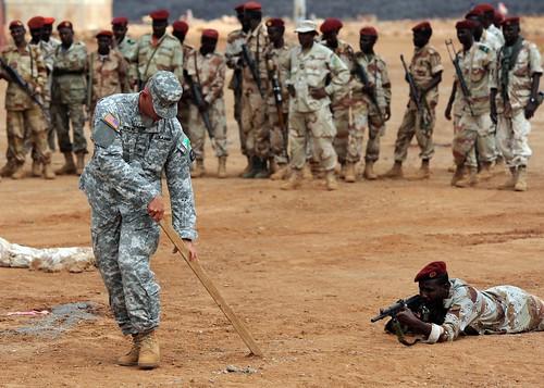 AFRICOM soldier techniques class