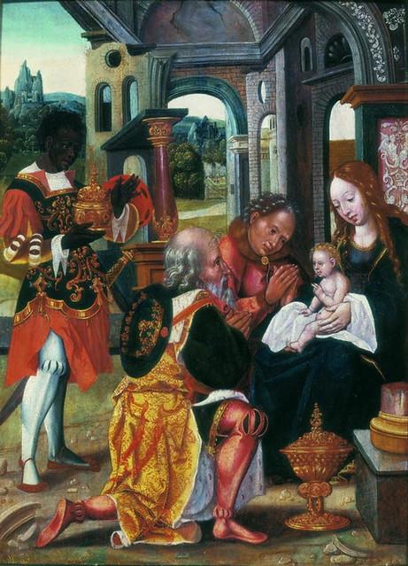 Attributed to Jan Mertens II van Dornicke - The Adoration of the Magi