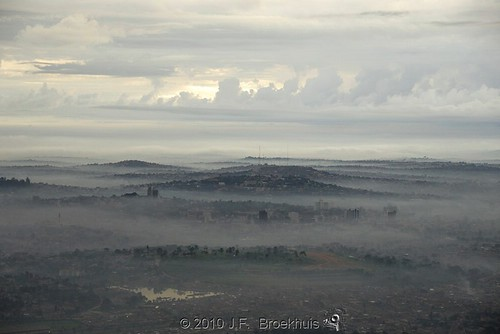 africa sunrise landscape dawn uganda kampala
