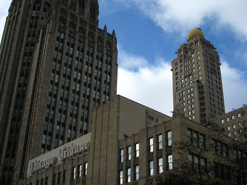 Tribune tower and Intercontinental hotel | by adactio