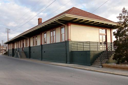 railroad station kentucky depot nationalregisterofhistoricplaces whitleycounty louisvillenashvillerr