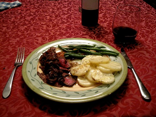 Dinner Alone - Final Plate (pulled back) | by bhamsandwich