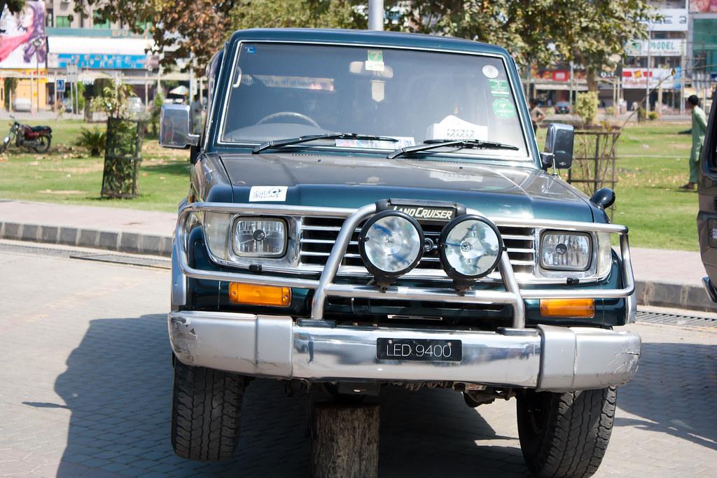 Toyota Land Cruiser 70 series | Adnan Khan | Flickr