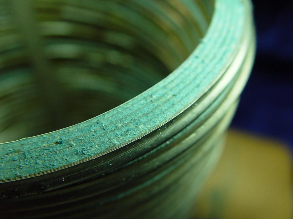 Flexitallic Asbestos Gasket Fibrous Surface | Close-up surfa