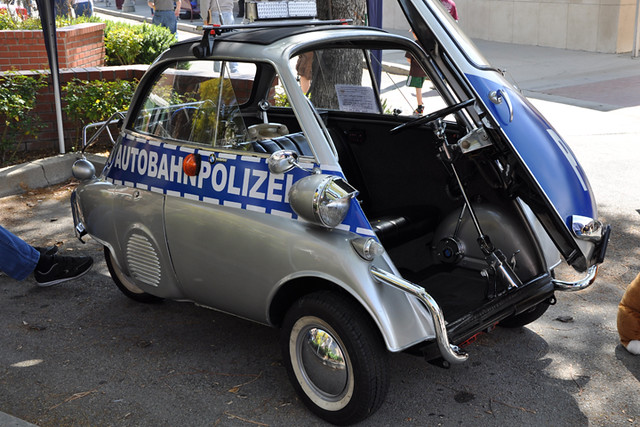 Isetta Polizei
