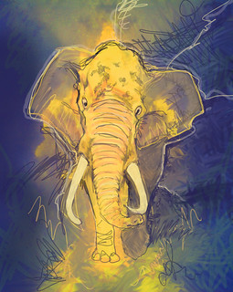 Elephant | by Mike Riley
