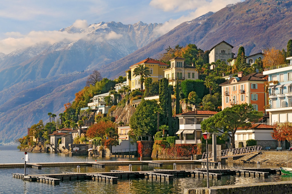 The nice Ascona | A vew of Ascona in Tessin. This is really … | Flickr