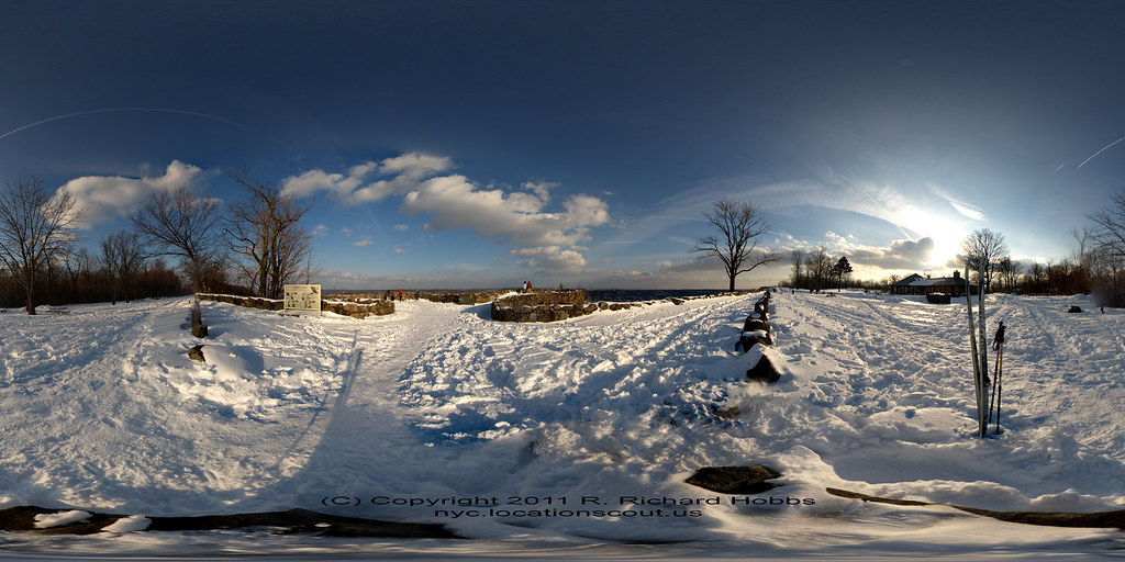 Fisheyes &etc: XC Skiing State Line Lookout, Palisades Interstate Park, Alpine, NJ 1-30-2011