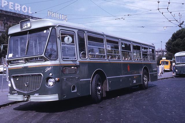 JHM-1971-0343 - Rome, autobus