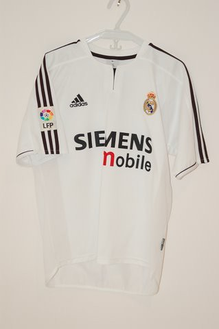 new product 4be09 2b851 2003/2004 Real Madrid David Beckham Home Jersey | AJ | Flickr