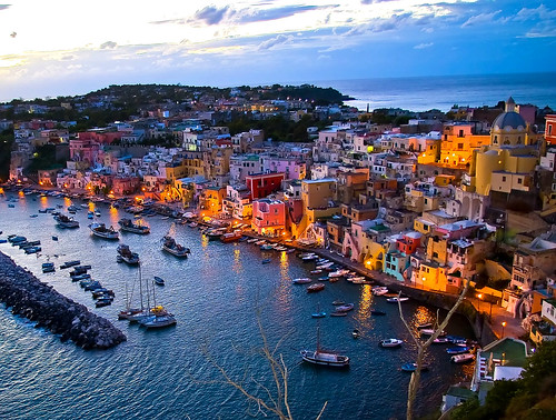 Procida sunset | by naranzaria