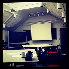 I love the classrooms in this university :)