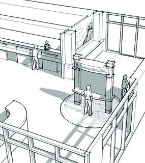 Bank Interior Sketch | Interior Bank Design | Bank Decor D ...