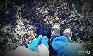 79/365 Big Feet Little Feet | by Hexagoneye Photography
