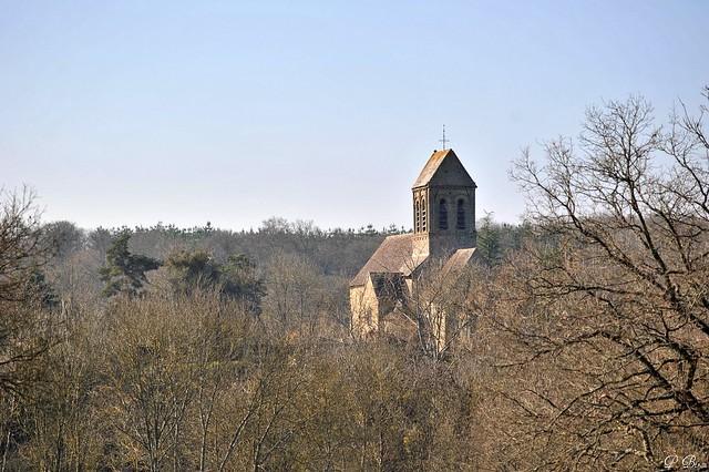 L'église (XIe s.) de Saint-Céneri-le-Gerei - Orne