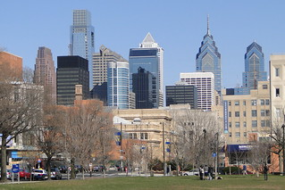 View of Philadelphia Skyline from University of Pennsylvania Downtown Campus - Philadelphia - Pennsylvania | by Adam Jones, Ph.D. - Global Photo Archive