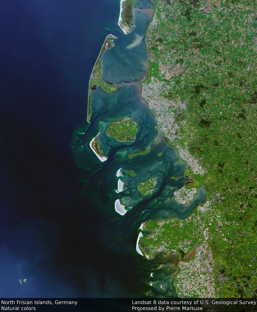 Earth from Space: North Frisian Islands, Germany