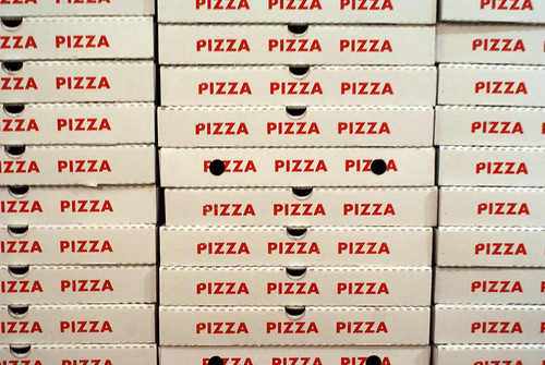 Pizza boxes | by Marc Wathieu
