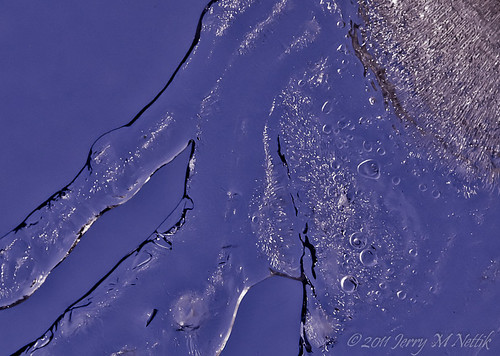 blue snow abstract ice water lines silver cool bubbles freeze melt coth5 icestract mt2ri