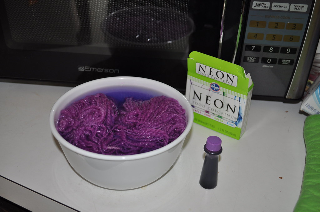 Water, Neon Purple Food Coloring and White Vinegar | Flickr