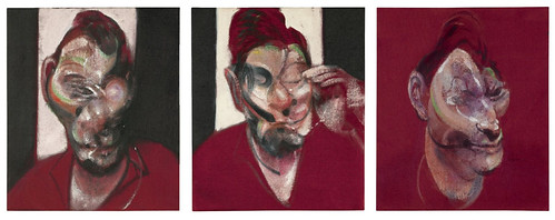 [ B ] Francis Bacon - Three Studies for the Portrait of Lucian Freud (1964)