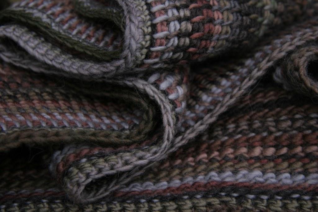 Tunisian Crochet Scarf Bettyfish123 Flickr
