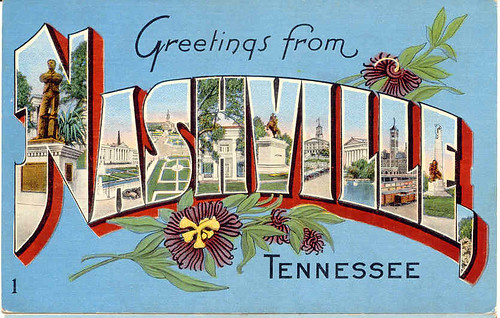 nashville postcard | by sidknee23