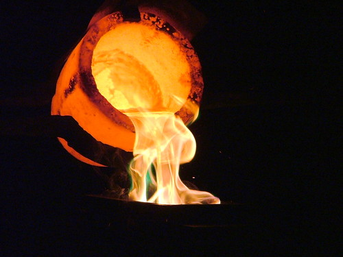Pouring Liquid Gold | by The Puzzler
