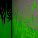 how green grows the wall