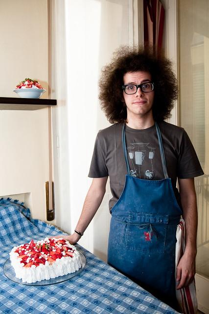 Paolo e la torta Emilio