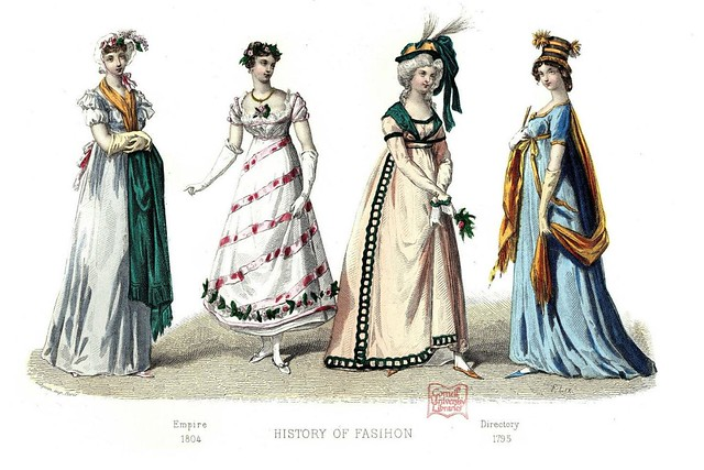 French Fashion Plate - 1795-1804