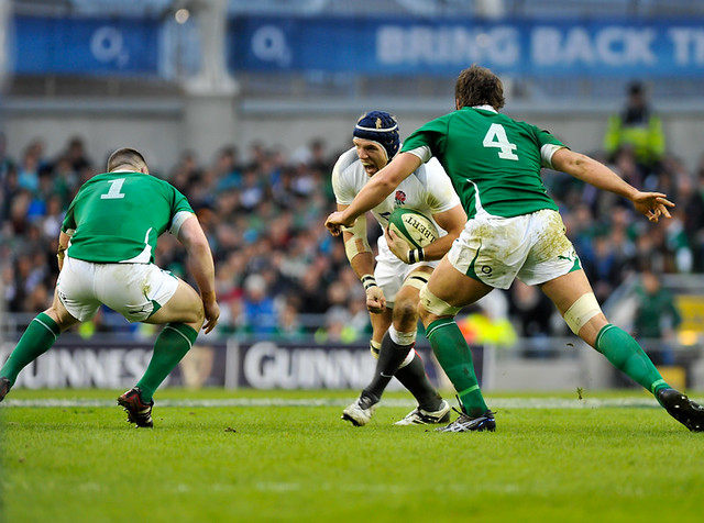 Ireland v England in the 2011 RBS 6 Nations
