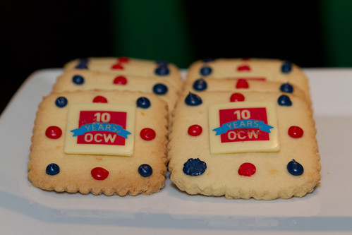 OCW 10th Anniversary Cookies