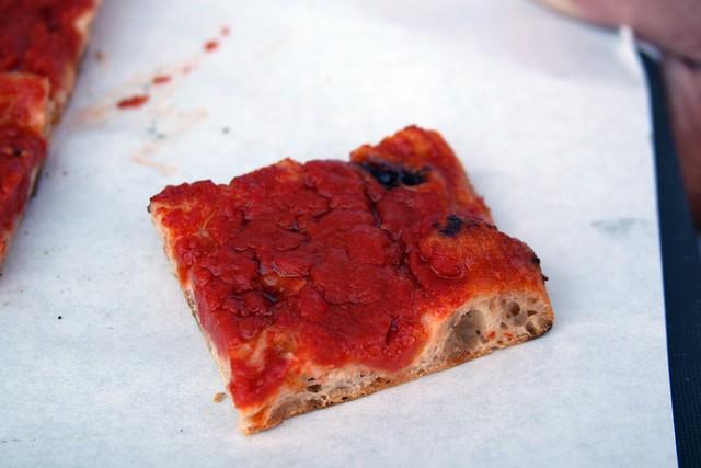 Pizza Rossa at Pizzarium, Rome