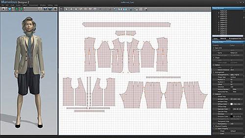 Clo Virtual Fashion Inc Marvelousdesigner Screenshot V Flickr