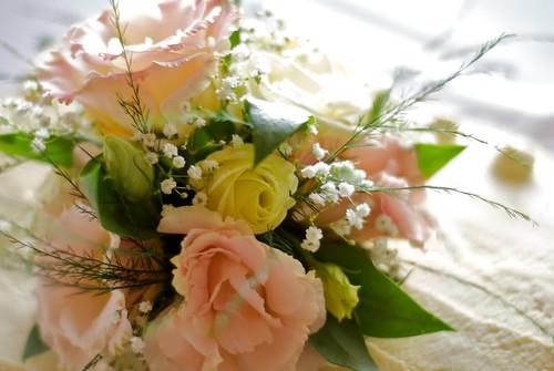 Wedding cake flowers | by blmurch