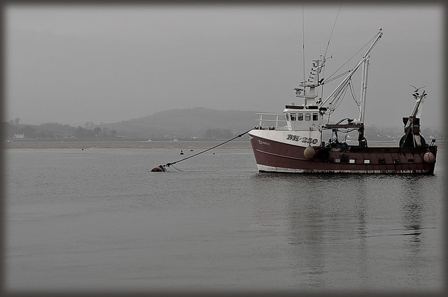 Exmouth fishing boat