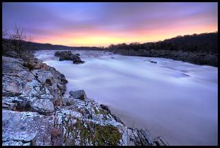 Great Falls, Great Morning   by jeffsmallwood
