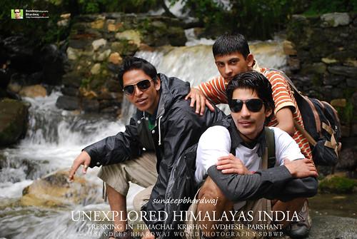 TREKKING IN UNEXPLORED HIMALAYAS INDIA MODELS KRISHAN AVDHESH PARSHANT 2008-08-15 10_00_32_02 I AWFJ   by SDB Fine Art Travel of 2 Decades to 555+ Places Ph