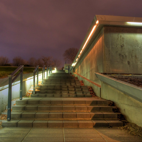 Up the stairs!   by haban hero