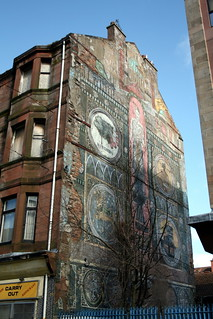 Mural at Saracen Cross, Possil. | by hollowhorn